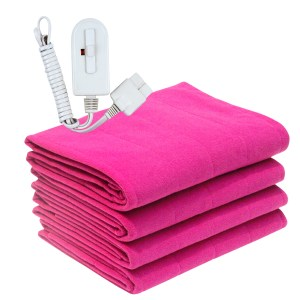 Electric Blanket Pink Fancy Quilted